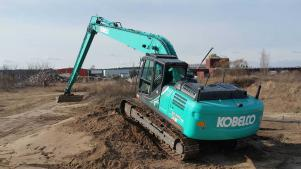 Kobelco Long Reach Bagger SK210 & SK260